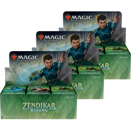 3 Draft Booster Boxes + 6...