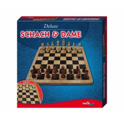 Deluxe Wood - Chess & Dames